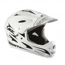 kenny racing downhill white- קסדה פול פייס קני רייסינג