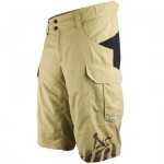 Fly-by BC-Pro shorts - מכנסי רכיבה לאופניים בצבע חרדל