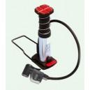 Mini Foot Pump - משאבת רגל מיני עם שעון דיגיטאלי